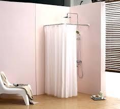 Bathroom Shower Curtain Rod Shower Curtain Rod For Corner Shower Vrboska Hotel