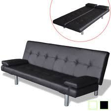 Futon Leather Sofa Bed Sofa Bed Ikea New Used Loveseat Modern Ebay