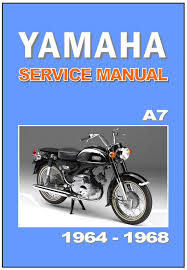 yamaha workshop manual a7 ya7 1964 1965 1966 1967 and 1968 service