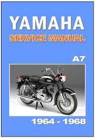 yamaha workshop manual a7 ya7 1964 1965 1966 1967 and 1968 service