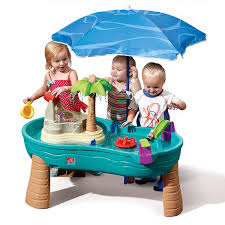 amazon com step2 splish splash seas water table with umbrella