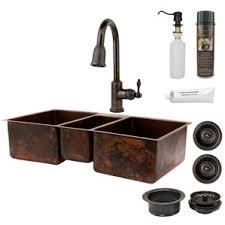 Triple Basin Kitchen Sink by Rectangular Triple Kitchen Sinks You U0027ll Love Wayfair