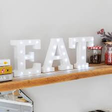white light up letters by letteroom notonthehighstreet com