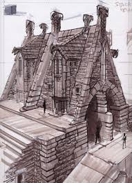 Home Designs And Architecture Concepts Architecture Concepts Video Games Artwork Concept Art From The