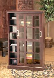 glass door bookcase types
