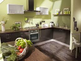 cuisine verte et marron deco cuisine verte et marron 20170805141242 tiawuk com