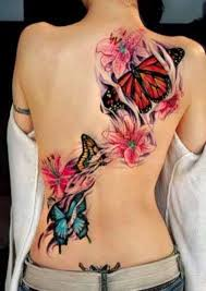 and butterflies