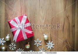 snowflake table top decorations white gift red silk wrap holiday stock photo 337061984 shutterstock