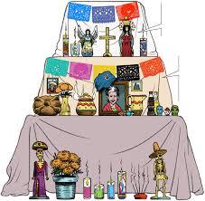 Dia De Los Muertos Halloween Decorations Anatomy Of A Day Of The Dead Altar Chicago Tribune