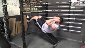 decline sit up exercise library demo videos information