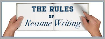 Resume Preparation Online by The Rules Of Resume Writing Advantage Solutions Careers