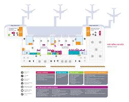 Airport Map Map Danang International Airport