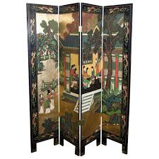 japanese room divider rare and exceptional antique japanese screen with hand carved