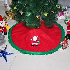 christmas tree skirts 90cm santa claus tree skirt christmas tree skirts tree