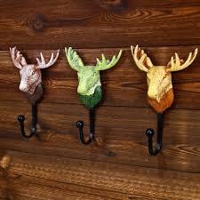 Deer Head by Best Heavy Duty Deer Head Design Resin Wall Hook Metal Coat U0026hat
