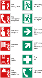 Fire Extinguisher Symbol Floor Plan New Signs The Key To Communicating Safety In Buildings