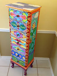furniture painting funky painted furniture ideas hand painted dresser carla bank