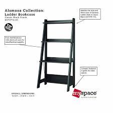 Bookcase Ladder Hardware by Amazon Com Bush Furniture Alamosa Ladder Bookcase Kitchen U0026 Dining