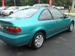 1993 honda civic si coupe 1993 honda civic 2dr coupe 1 6l ex auto coupe chester pa