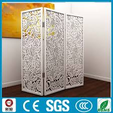 prices of classic white color iron room folded dividers and