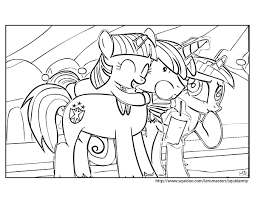 my little pony friendship is magic coloring pages young rarity