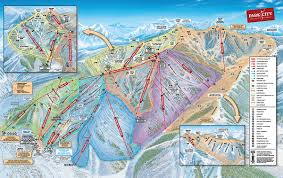 New Mexico Ski Resorts Map by Park City Mountain Resort