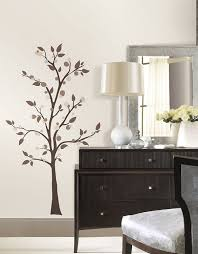 Peel And Stick Photo Wall Roommates Rmk2365gm Mod Tree Peel And Stick Giant Wall Decals 1