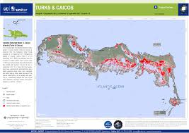 Boundary Waters Map Tropical Cyclone Irma 17 Satellite Detected Water In Caicos
