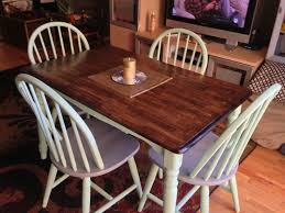 stained table top painted legs 14 best tables images on pinterest diner table furniture redo and