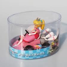 6pcs lot super mario bros kart princess peach toad donkey kong