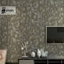 striped textured modern geometric wallpaper simple embossed vinyl