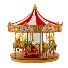 mr christmas merry carousel by mr christmas