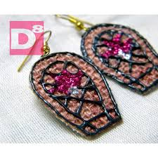 jute earrings buy handmade earrings handmade earring dangle earrings jute