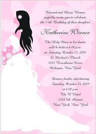 quinceanera invitation wording quinceanera invitations ideas ryanbradley co