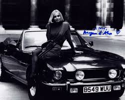 aston martin classic james bond bond maryam d u0027abo the living daylights in person signed photo