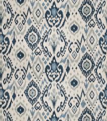 eaton square print fabric 03366 blue joann