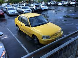 curbside classic 1995 99 hyundai accent excel u2013 a strong foundation