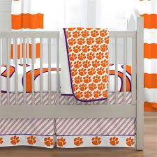 Orange Crib Bedding Clemson Crib Bedding Carousel Designs
