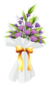 purple flowers bouquet png clipart image gallery yopriceville