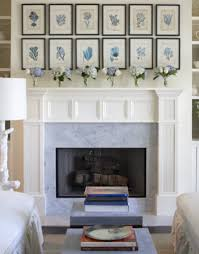 cozy picture of living room decoration using white wood shelves