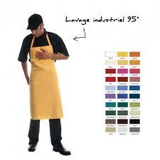 tablier de cuisine professionnel personnalisé tablier à bavette personnalisé tablier de travail lavage industriel