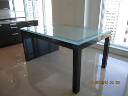 custom glass table top near me great custom glass table tops for your new furniture janssen glass
