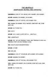 english worksheets gruffalo worksheets page 2