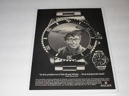 Peter Benchely - rolex submariner watch peter benchley jaws great white shark 1976