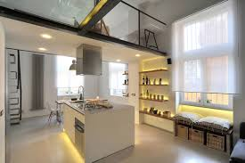 Loft Modern by Refurbished Industrial Loft Apartment In Rome Idesignarch