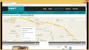 contact us google map in html php contact form with google maps
