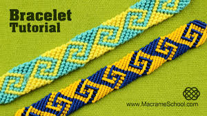 make friendship bracelet patterns images How to make greek wave friendship bracelet jpg