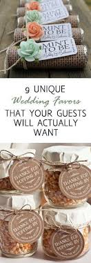 inexpensive wedding favors 9 unique wedding favors that your guests will actually want