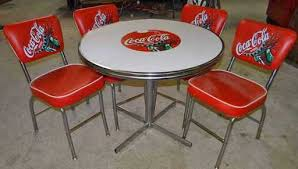 coca cola table and chairs coca cola table chair set