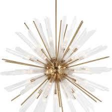 Sunburst Chandelier Decor Interesting Starburst Chandelier For Your Home Lighting